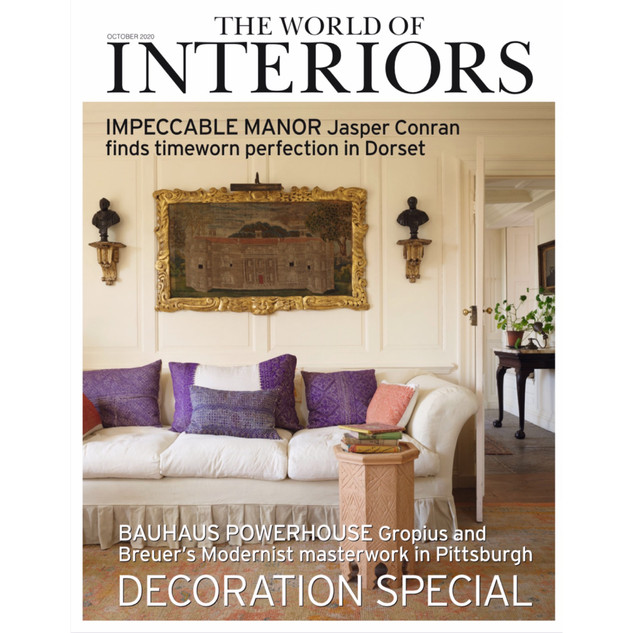 Cover The World of Interiors October 2020