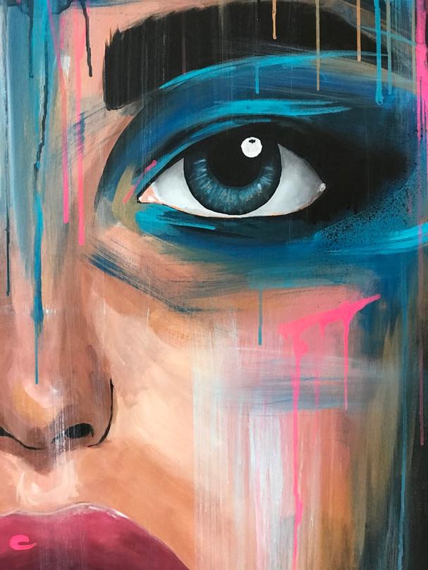 "Details of artwork ""Lucid dreams"""