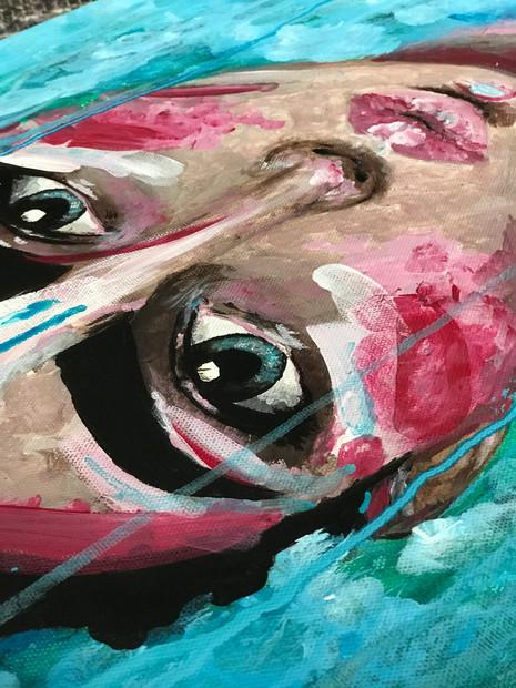 """Details of artwork """"Sweet water"""""""