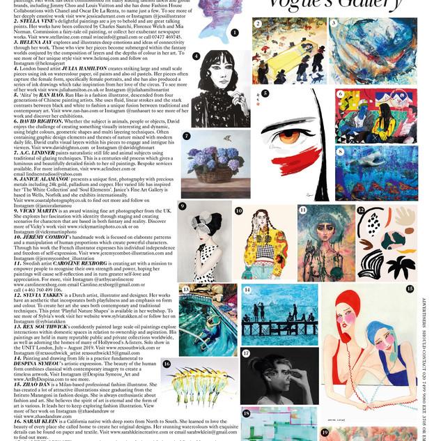 Vogue's Gallery August 2019