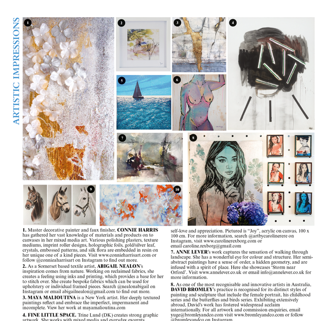 Artistic Impression - The World of Interiors October 2019