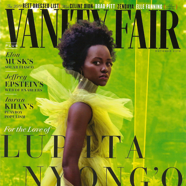 Cover Vanity Fair October 2019