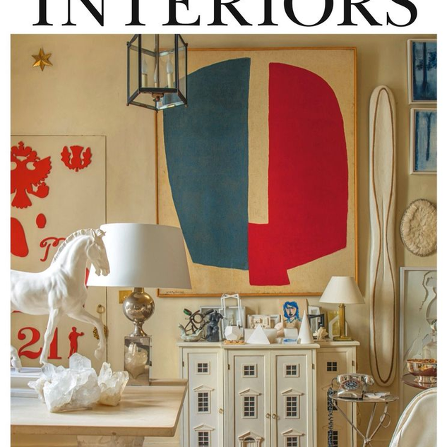 Cover The World of Interiors February 2021