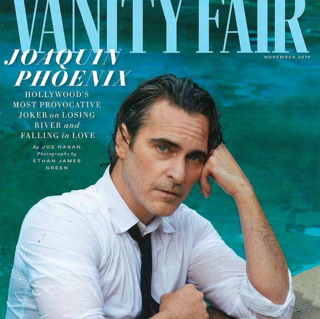 Cover Vanity Fair November 2019