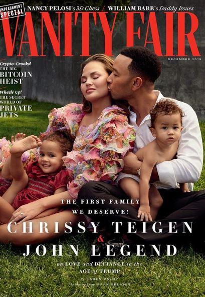 Cover Vanity Fair December 2019
