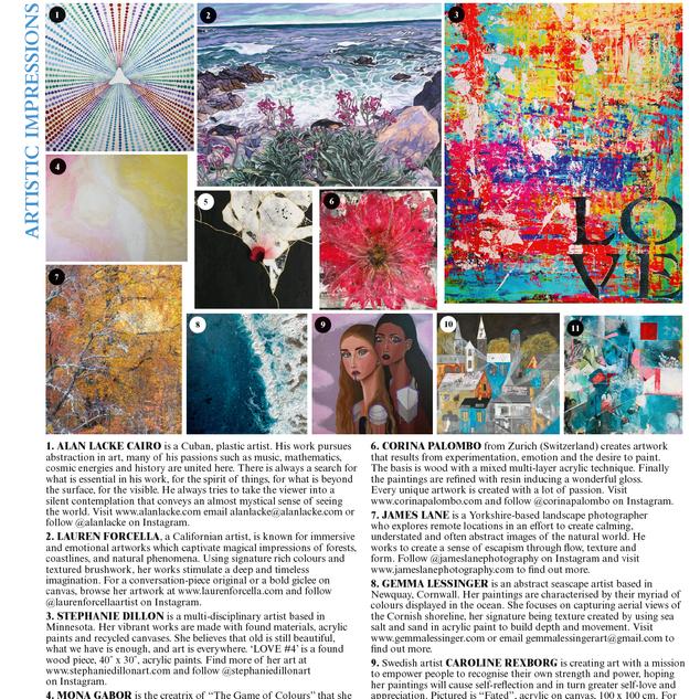 Artistic Impression - The World of Interiors February 2021