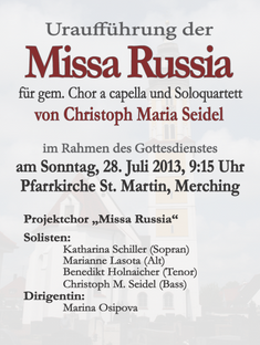 Russische Messe 2013