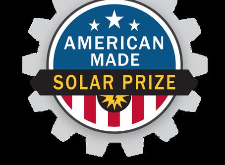 Solar innovation...American-made