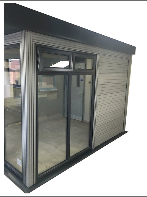 Double side window for 3316 deep gardenroom