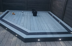 composite decking in Salt lake silver