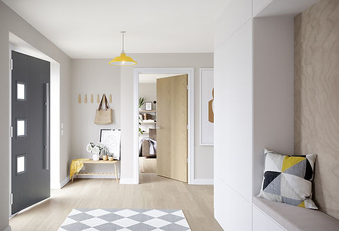 Nordic Nature Roomset Grey Door - Eshot