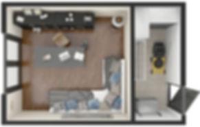 garden room layout