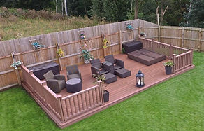 composite decking wild brown
