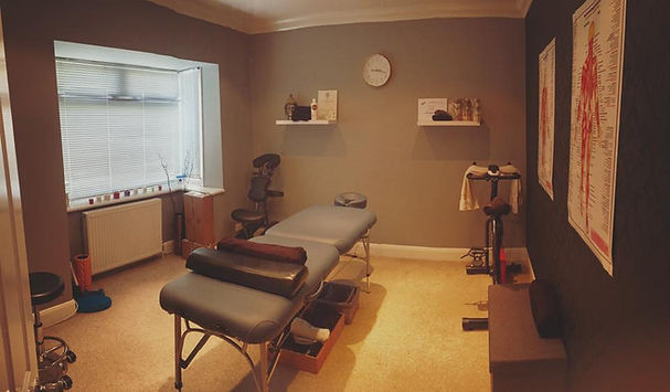 Proto Sports Massage Treatment Room in Shoreham By Sea