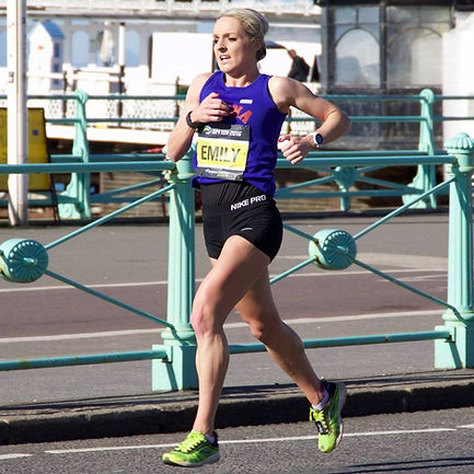 Running the Brighton Marathon 10k 4th Female - BM10k