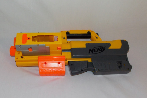 When your child's mission calls for stealth, the Nerf N-Strike Deploy CS-6  Blaster is just the right