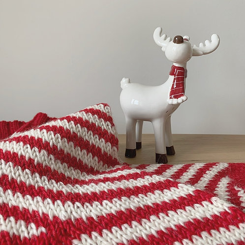 Ceramic Reindeer Decoration - Large