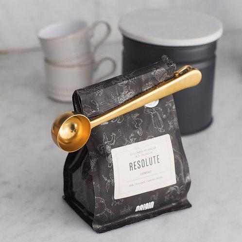 Brass Coffee Scoop