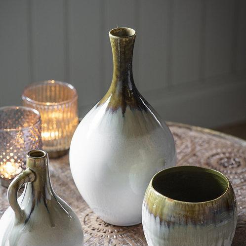 Dripped Glaze Vase