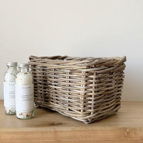 Rattan Storage Basket - Small