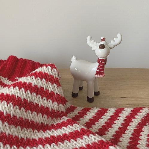 Ceramic Reindeer Decoration - Small