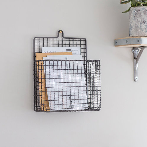 Wire Wall Letter Holder