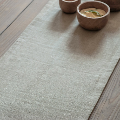 Natural Linen Table Runner