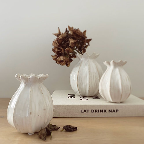Poppy Seed Vase - Small