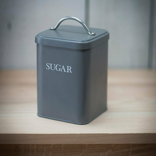 Charcoal Sugar Canister