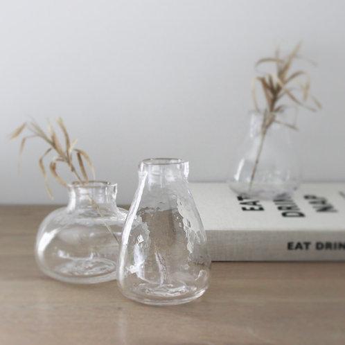 Medium Glass Bud Vase