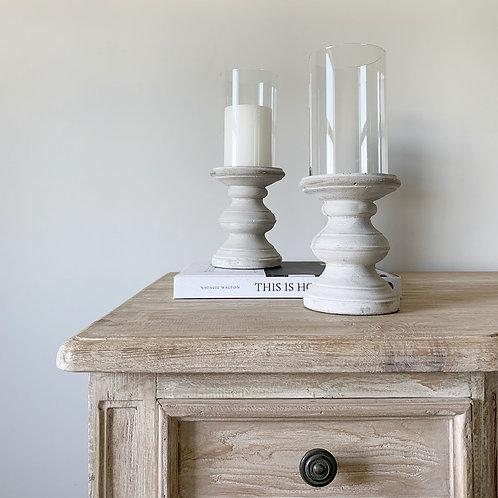 Concrete Pillar Candlestick