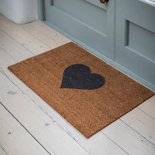 Heart Doormat - Large
