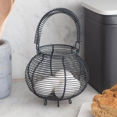 Charcoal Egg Basket