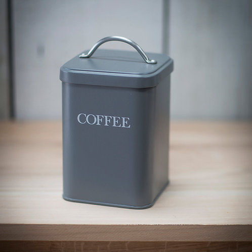 Charcoal Coffee Canister