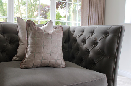 Made to Measure Cushions - Luxurious Sitting Room