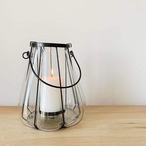 Black Frame Lantern Large
