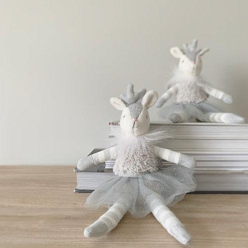 Grey Fairy Fawn Decoration