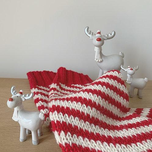 Grey Ceramic Reindeer Decoration  - Small