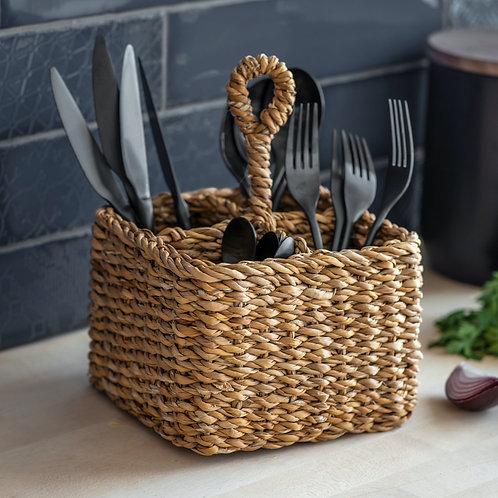 Seagrass Cutlery Holder