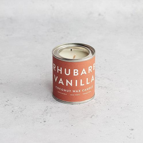 Rhubarb Vanilla Candle