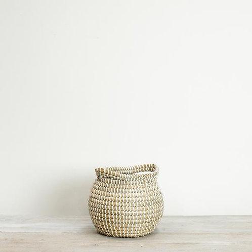 Round Seagrass Basket - Mini