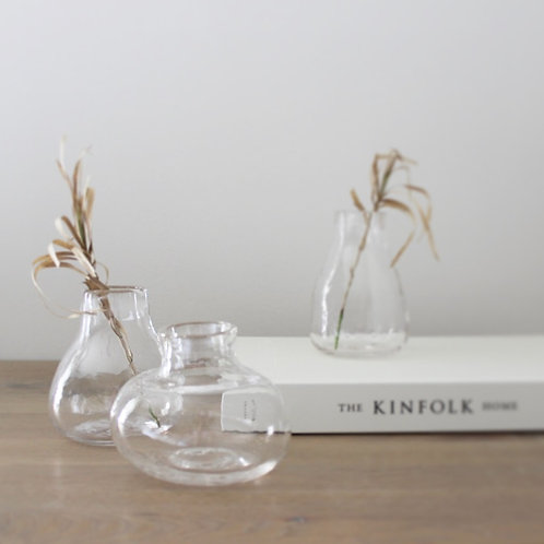Mini Glass Bud Vase