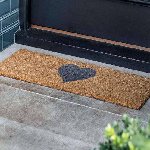 Top Step Heart Doormat