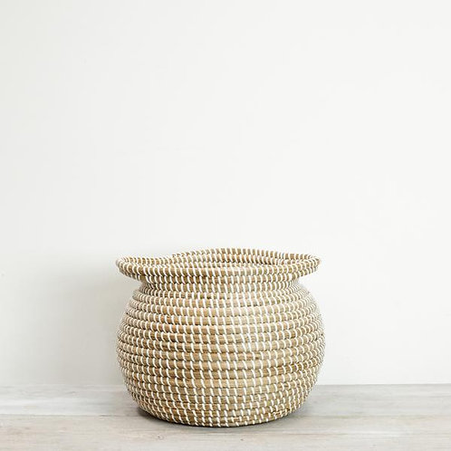 Round Seagrass Basket - Small