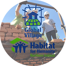 """Living Youth have partnered with the Habitat with Humanity Global Village project for many years, going to countries such as Ethiopia, Malawi, India and others in """"Seeking to put God's love into action, by bringing people together to build homes, communities and hope."""""""