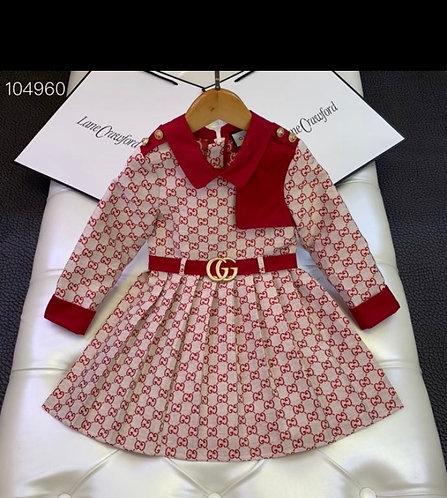 Red GG dress