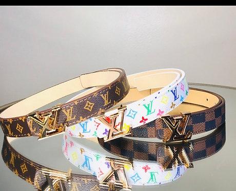 LV kid belts