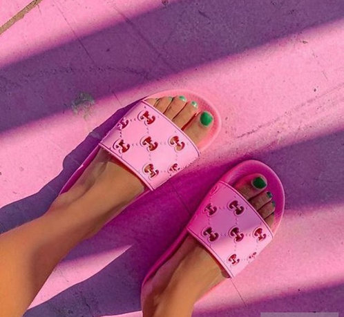 Hot pink GG slides