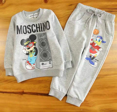 Micky and Donny Moschino suit