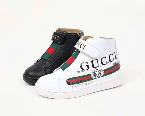 High top strap laceless